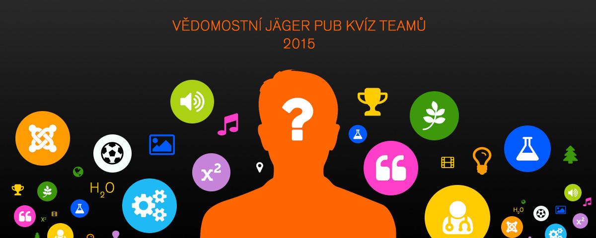 Vědomostní Jäger pub kvíz teamů